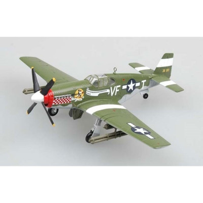 Macheta Easy Model, P-51B Fighter(Capt.D.Gentile,336th FS,4THFG) 1:72 foto