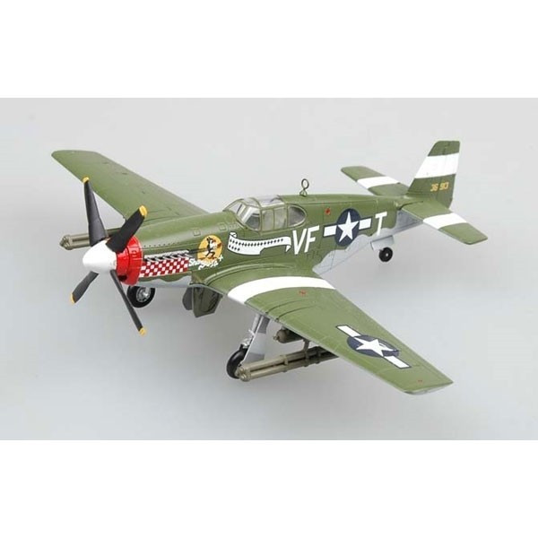 Macheta Easy Model, P-51B Fighter(Capt.D.Gentile,336th FS,4THFG) 1:72