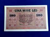 Bancnote România - 1000 lei 1917 - Banca Generală Română (starea care se vede)