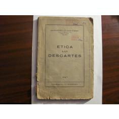 """CY - Alexandru TILMAN TIMON """"Etica lui Descartes"""" / 1961"""