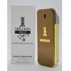 Parfum Tester 1 MILLION Prive 100ml - Paco Rabanne