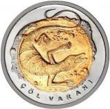 Monede Turcească Comemorative FAUNA VARAN DE DEȘERT 1 Liră Turcească, Europa