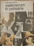 CONSTANTIN GORGOS - VADEMECUM IN PSIHIATRIE {1985}