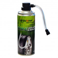 Spray umflat roti Breckner Germany cu aer comprimat si cauciuc lichid 400 ml