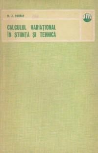 Calculul variational in stiinta si tehnica foto