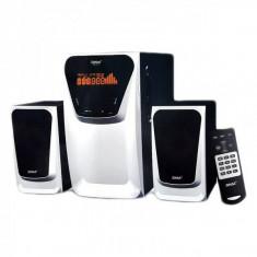 Boxe Sistem Audio cu BT, FM, USB, SD si Telecomanda RM9127