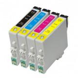 Set 4 cartuse Epson T441 T442 T443 T444 compatibile
