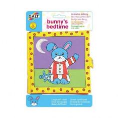 Carticica moale pentru bebelusi Galt – Bunny's Bedtime