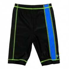 Pantaloni de baie blue black marime 86- 92 protectie UV Swimpy for Your BabyKids