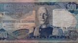 BANCNOTA 500 ESCUDOS 1972-ANGOLA