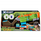 Set Arbaleta X-Shot Bug Attack cu 12 proiectile si 2 tinte mobile, Zuru