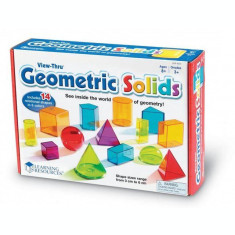 Forme geometrice 3D colorate