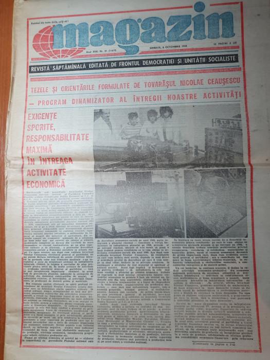 magazin 8 octombrie 1988