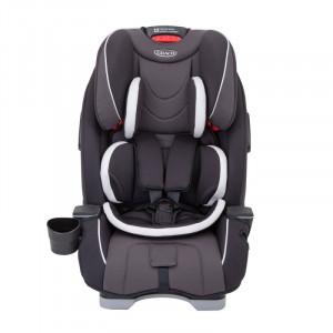 Scaun auto SlimFit Pearl Grey, suporta maxim 13 kg, prindere 5 puncte, 10 pozitii ajustare, 0 luni+