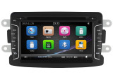 "Unitate Multimedia cu Navigatie GPS, Touchscreen HD 7"" Inch, Windows, Dacia Sandero 2012- + Cadou Card Soft si Harti GPS 8Gb"