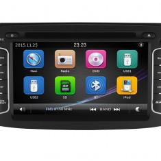 "Unitate Multimedia cu Navigatie GPS, Touchscreen HD 7"" Inch, Windows, Dacia Dokker 2012- + Cadou Card Soft si Harti GPS 8Gb"