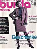 Burda revista de moda insert in limba romana 10/1995  (croitorie)
