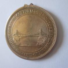 Cumpara ieftin Medalia in amintirea inaugurarei podului peste Dunarea la Fetesti-Cernavoda 1895