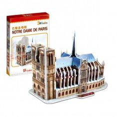 Puzzle 3D CubicFun CBFA Notre Dame din Paris