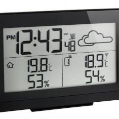Statie meteo digitala Casa cu senzor extern wireless negru TFA S35.1135.01