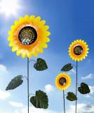 Decoratiuni gradina Floarea soarelui -2buc,