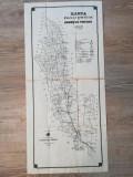Harta judetului Tecuci  1908