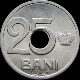 Romania, 25 bani 1921 UNC * cod 87, Aluminiu