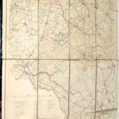 B572-Harta veche AACHEN & MONSHAU 1927 Deutches Reich panza.