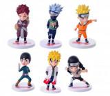 Set Figurina Naruto Kakashi Hatake Gaara Lee Neji Minato 11 cm anime