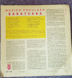 Muzica populara banateana, disc vinil, electrecord