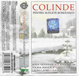 Caseta Colinde Pentru Suflete Românești, originala, Casete audio