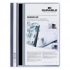 Dosar plastic șină Duraplus Durable gri