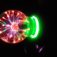 Glob cu Plasma 6 inch model tesla din sticla