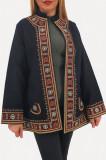 Sacou Pardesiu brodat cu motive traditionale 5