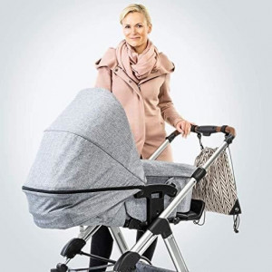 Rucsac organizator pentru carucioare de bebelusi Reer Clip&Go Bag 84082 Children SafetyCare