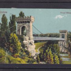 CRAIOVA  PARCUL BIBESCU  PODUL  CIRCULATA  1926