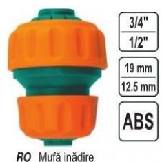 """Mufa innadire reductie 1/2""""-3/4"""", Flo 89234"""