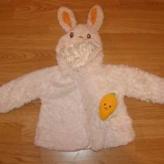 Costum carnaval serbare animal iepuras iepure pentru copii de 2-3 ani, Din imagine
