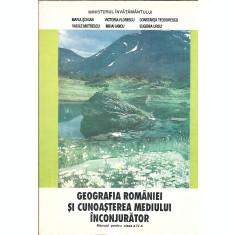 Geografia Romaniei si cunoasterea mediului inconjurator ( manual clasa a 4 a )