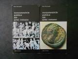 NIELS HANNESTAD - MONUMENTELE PUBLICE ALE ARTEI ROMANE 2 volume