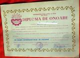 Diploma de Onoare RSR,