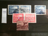 ROMANIA , 1949 , TIMBRE  deparaiate , stampilate