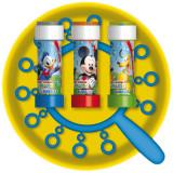Joc party Mickey Mouse, Frisbee & Baloane de Sapun Gigant, Dulcop 110500
