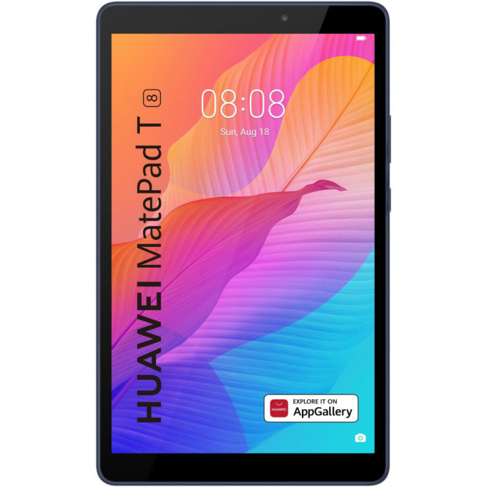 "Tableta Huawei MatePad T8, Octa-Core, 8"", 2GB RAM, 16GB, Wi-Fi, Deepsea Blue"