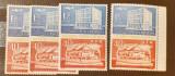 Cumpara ieftin Romania 1964 LP 595 ziua marcii postale 2v.MNH, Nestampilat