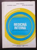 MEDICINA INTERNA MANUAL CLASA A XII-A LICEE SANITARE Ionescu, Vintila, Niculescu