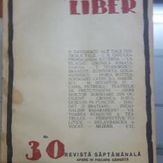 Cuvântul Liber, Nr. 30, 16 august 1924