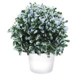 Cumpara ieftin Planta artificiala verde cu mov deschis 20cm in ghiveci