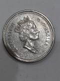 Moneda 5 cents 2000 canada, America de Nord