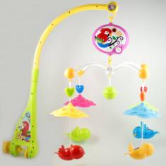 Carusel muzical cu figurine si zorzoane (pentru patutul bebelusului) - Muzica